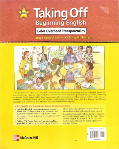 9780073314327: Taking Off Beginning English Color Overhead Transparencies, 2nd Edition