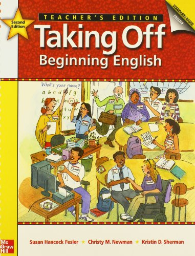 9780073314365: Taking Off Teacher's Edition with Tests: Beginning English