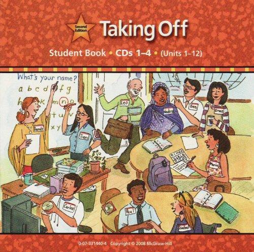9780073314402: Taking Off Audio CD: Beginning English