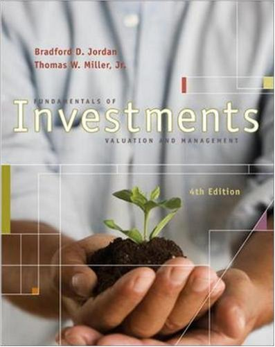 9780073314976: Fundamentals of Investments with S&P & Stock Trak Card