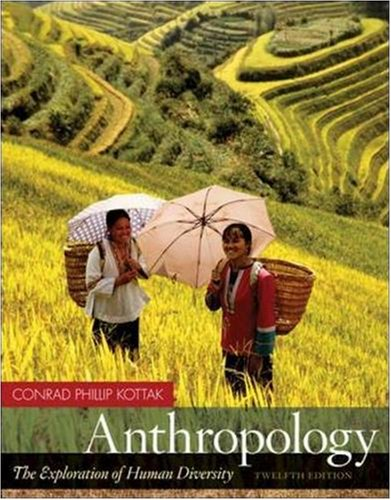 9780073315089: Anthropology: The Exploration of Human Diversity with Living Anthropology Student CD