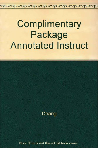 9780073315300: Complimentary Package Annotated Instruct