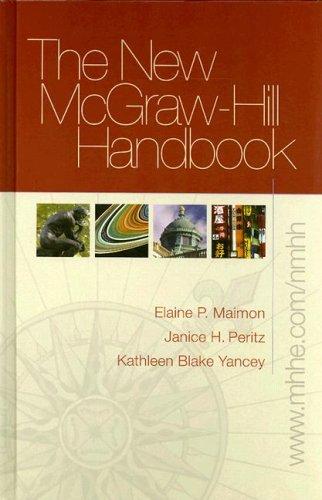 9780073315454: The New McGraw-Hill Handbook (hardcover) w. Student Catalyst 2.0 (1st ed reprint) (McGraw-Hill Handbooks)
