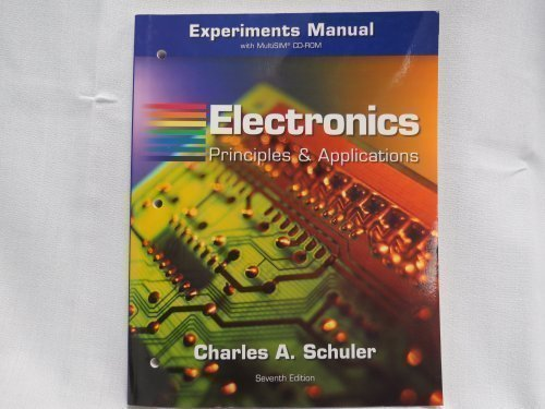 9780073316529: Experiments Manual With CD for Electronics : Principles and Application