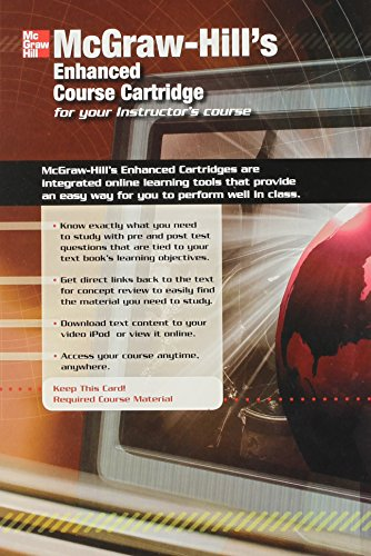 9780073316901: Mcgraw-hill's Enhanced Course Cartridge for You Instructor's Course (McGraw Hill's Enhanced Cartridges are integrated online learning tools that provide an easy way to perform well in class, pre and post test questions that are tied to textbook)