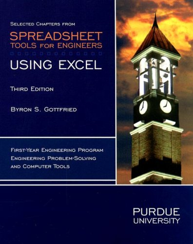 9780073316949: Selected Chapters from Spreadsheet Tools for Engineers: Using Excel