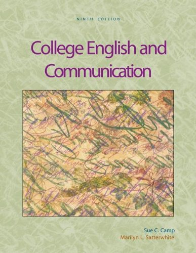 9780073317939: College English and Communication with OLC Premium Content Card