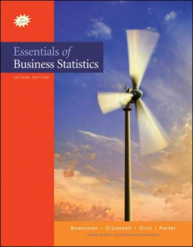 9780073319889: Essentials of Business Statistics with Student CD (The Mcgraw-Hill/Irwin Series: Business Statistics and Quantitative Methods and Management Science)