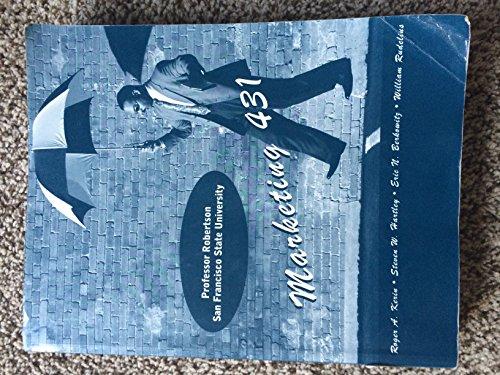 9780073320212: Marketing 431 - Principles of Marketing for San Francisco State University