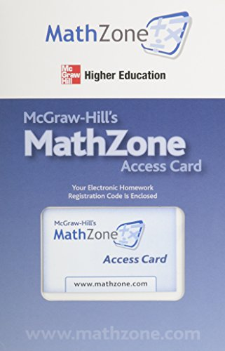9780073320465: MathZone Access Card for Calculus