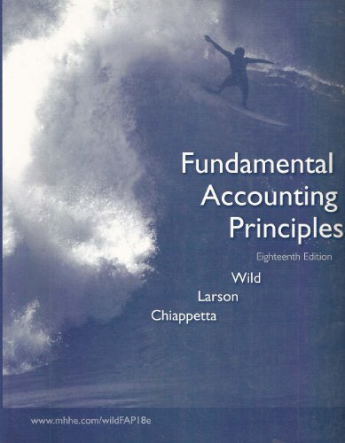 9780073322322: Fundamental Accounting Principles