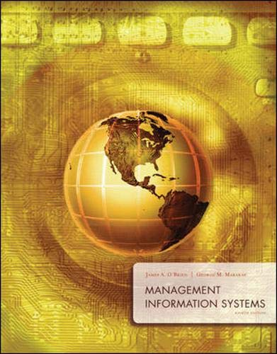 Management Information Systems with MISource 2007: O'Brien,James; Marakas,George