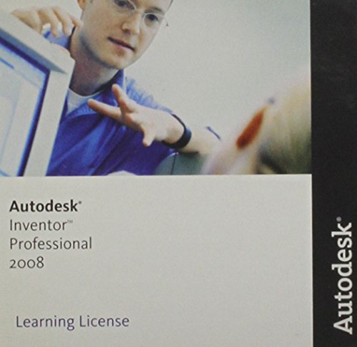 9780073324135: Autodesk Inventor Professional 2008 ~ Learning License (Student Version (14 Month License))