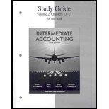 9780073324609: Study Guide, Volume 2 to accompany Intermediate Accounting