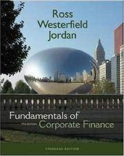 9780073325262: Fundimentals of Corporate Finance