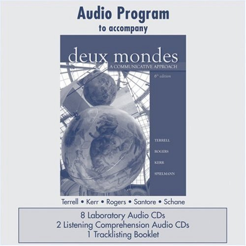 9780073326870: Audio CD Program  to accompany Deux mondes: A Communicative Approach