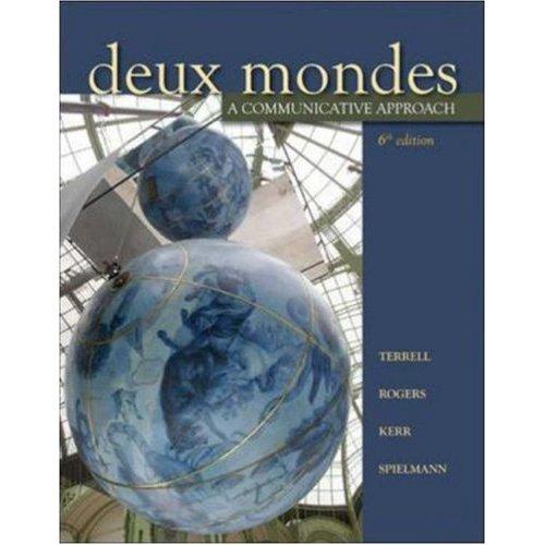 9780073326894: Deux Mondes: A Communicative Approach