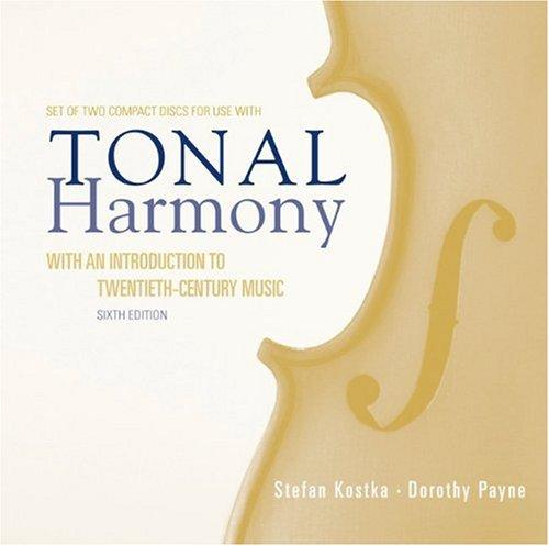 9780073327136: Audio CD/Tonal Harmony