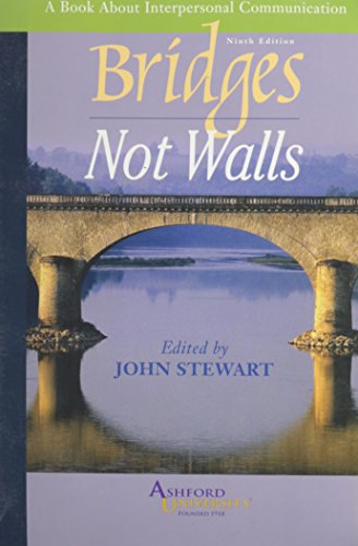 9780073327242: Bridges Not Walls (Custom Ashford University) :A Book About Interpersonal Communication)