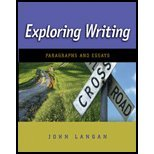 Exploring Writing: Sentences and Paragraphs- Annotated Instructor's Edition: Langan, John
