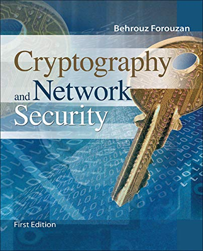 9780073327532: Cryptography & Network Security (Irwin Computer Science)