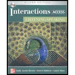 9780073328607: Title: INTERACTIONS ACCESS:LISTEN./SP
