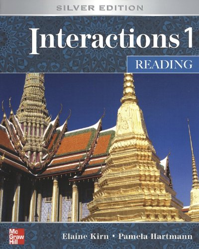 9780073329642: Interactions 1 Reading Student Book: Silver Edition