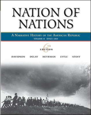 9780073330167: Nation of Nations, Volume 2: Since 1865