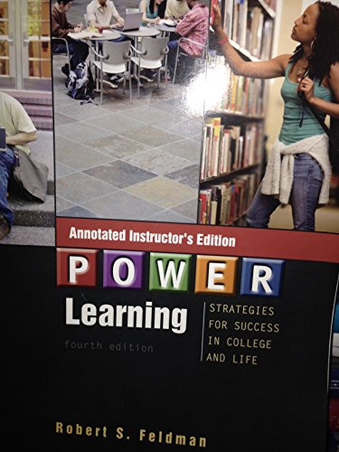 9780073330426: P.O.W.E.R. Learning: Strategies for Success in College and Life