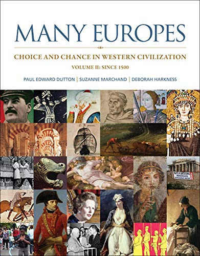 9780073330501: Many Europes: Volume II: Choice and Chance in Western Civilization Since 1500