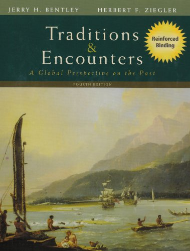 9780073330679: Traditions & Encounters: A Global Perspective on the Past (Nasta Hardcover Reinforced High School Binding