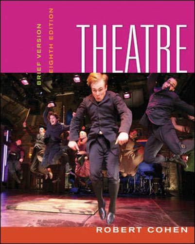 9780073330907: Theatre: Brief Version (Theatre (Brief Edition))