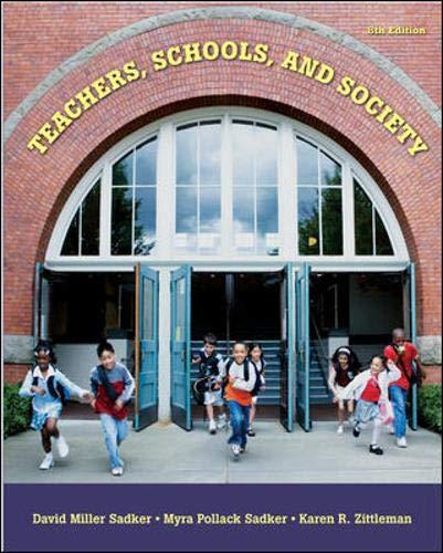 9780073331614: Teachers, Schools, and Society