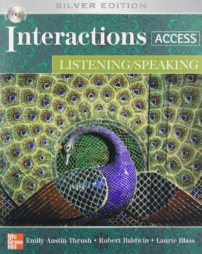 9780073331980: Interactions Access: Listening/ Speaking - With CD