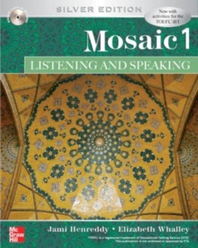 Mosaic One Listening & Speaking Sb With: Hanreddy