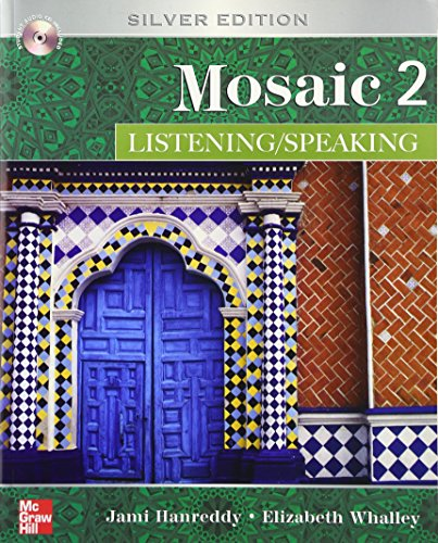 9780073332000: Mosaic 2: Listening, Speaking with CD