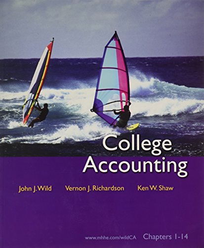 College Accounting: Ken W. Shaw;