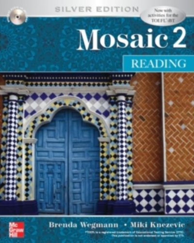 9780073337395: Mosaic 2 Reading Student Book w/ Audio Highlights: Silver Edition