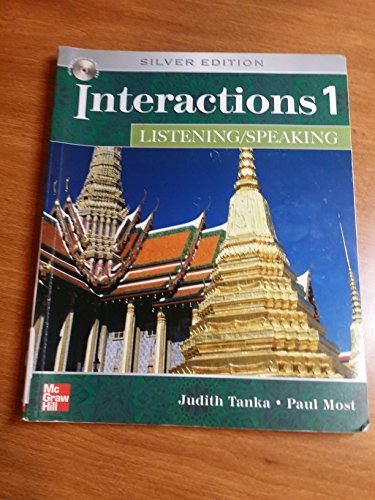 9780073337425: Interactions 1 Listening/Speaking, Silver Edition (Student Book with Audio CD)