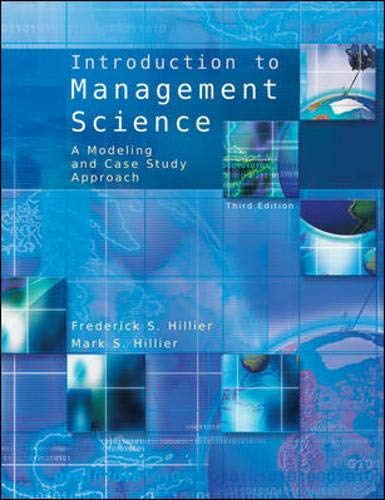 9780073337975: Introduction to Management Science with Student CD