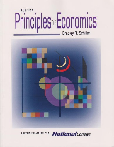 9780073342184: Bus 121, Principles of Economics- Custom for National College