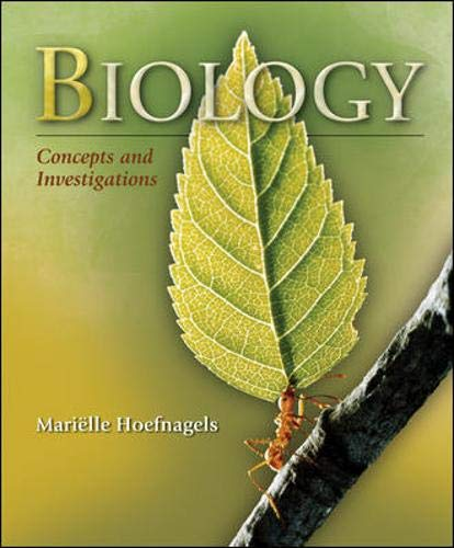 9780073342528: Biology: Concepts & Investigations: Concepts and Investigations