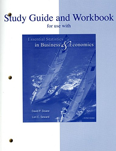 Study Guide and Workbook for use with: David P. Doane;