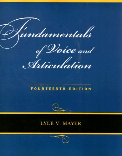 9780073342986: Fundamentals of Voice and Articulation with CD-ROM