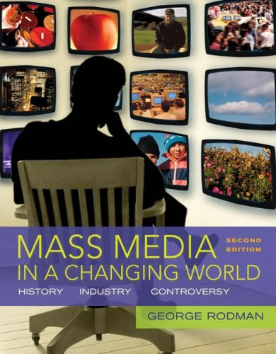 9780073342993: Mass Media in a Changing World with Media World 2.0 DVD-ROM