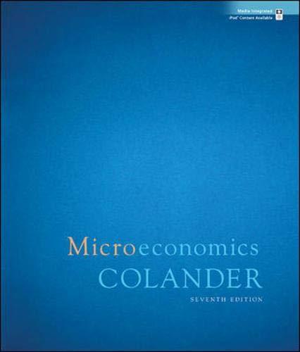 9780073343655: Microeconomics