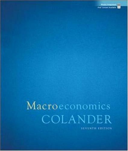 9780073343662: Macroeconomics
