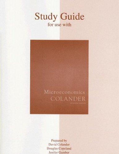 9780073343709: Microeconomics Study Guide