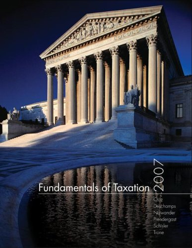 9780073344300: Fundamentals of Taxation with TaxACT 2006 Deluxe