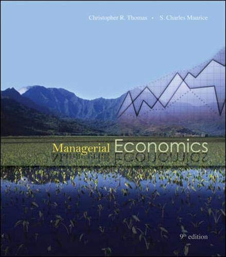 Managerial Economics with Student CD: Thomas, Christopher, Maurice,